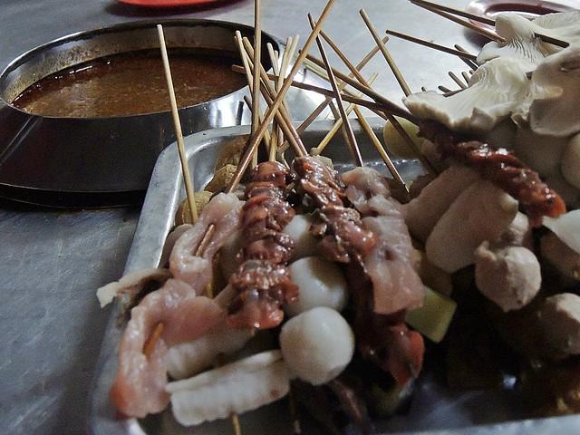 Ban Lee Siang Satay Celup food items