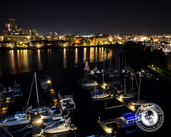 Canada Photo Essay - Victoria Harbor at Night