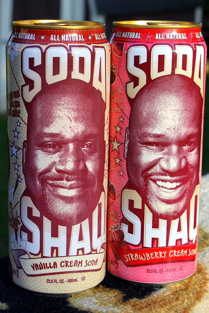 Soda Shaq Vanilla Cream and Strawberry Cream