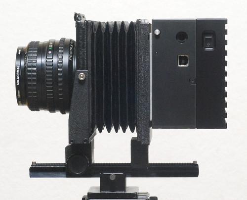 Universal mount camera and compact YAKUSCAN