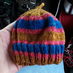 Latest preemie hat
