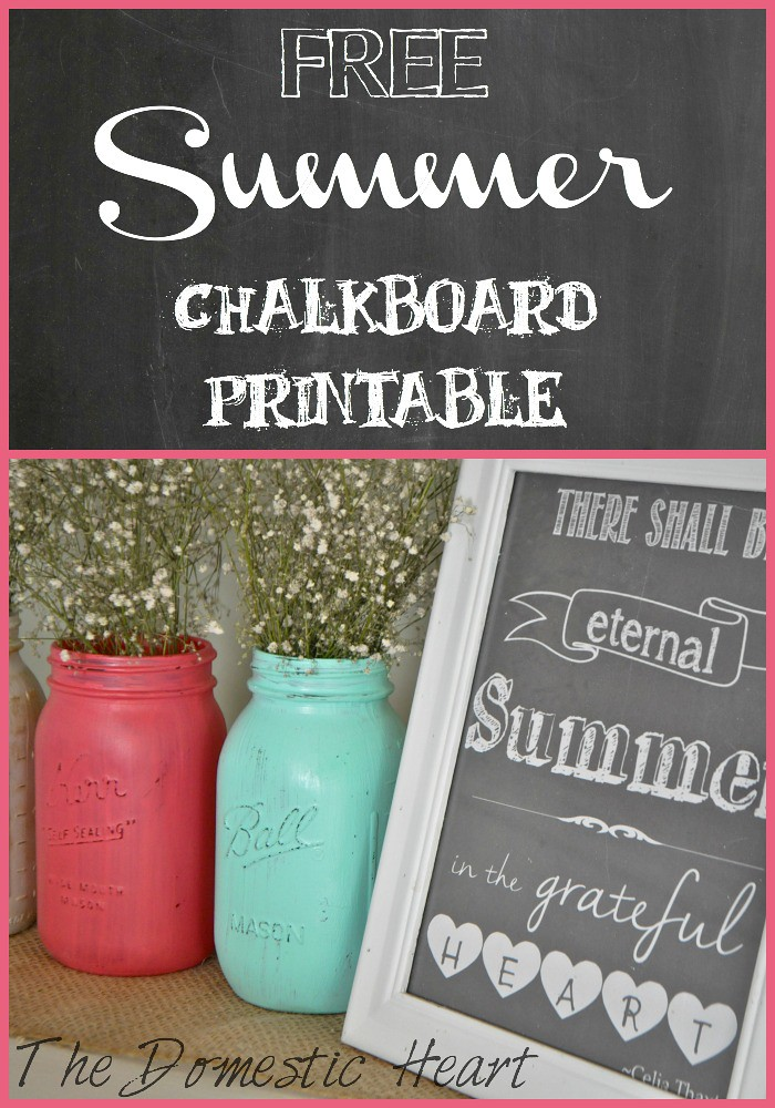summer printable Collage
