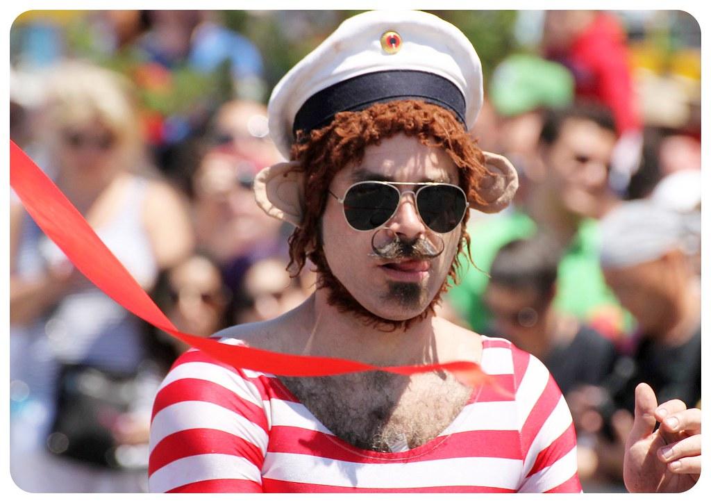 coney island mermaid parade 2014 sailor