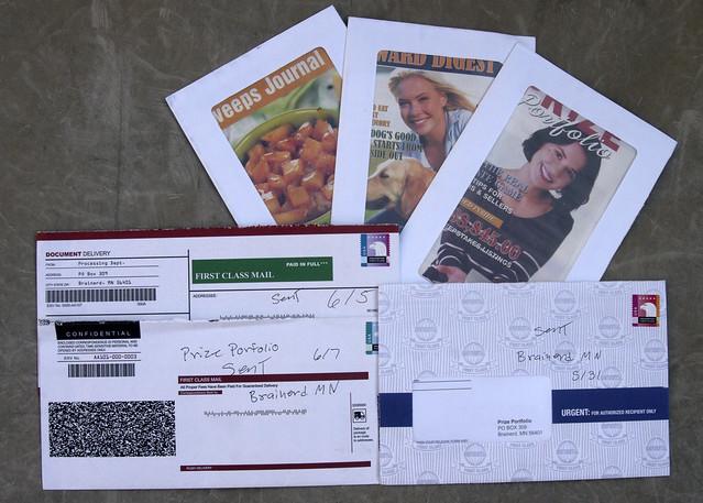 Prize Portfolio junk mail