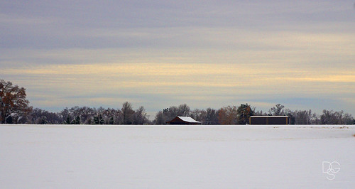 snow clouds rural sunrise vanburen arkansas pristine