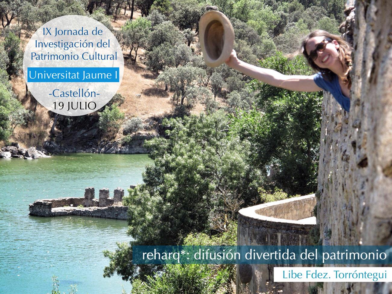 reharq_patrimonio_universitat jaume I_ Jornadas  Patrimonio