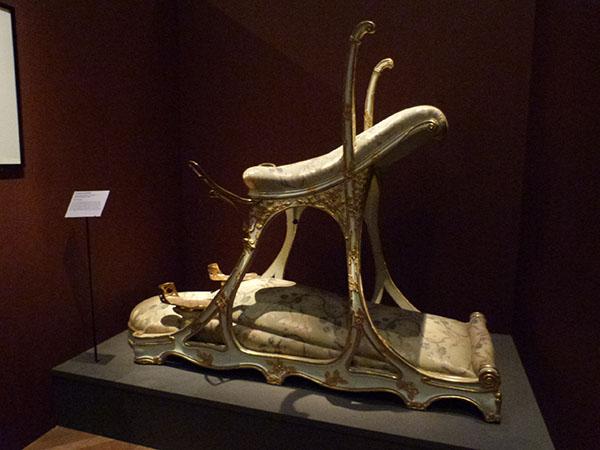 fauteuil du prince de galles au Chabanais