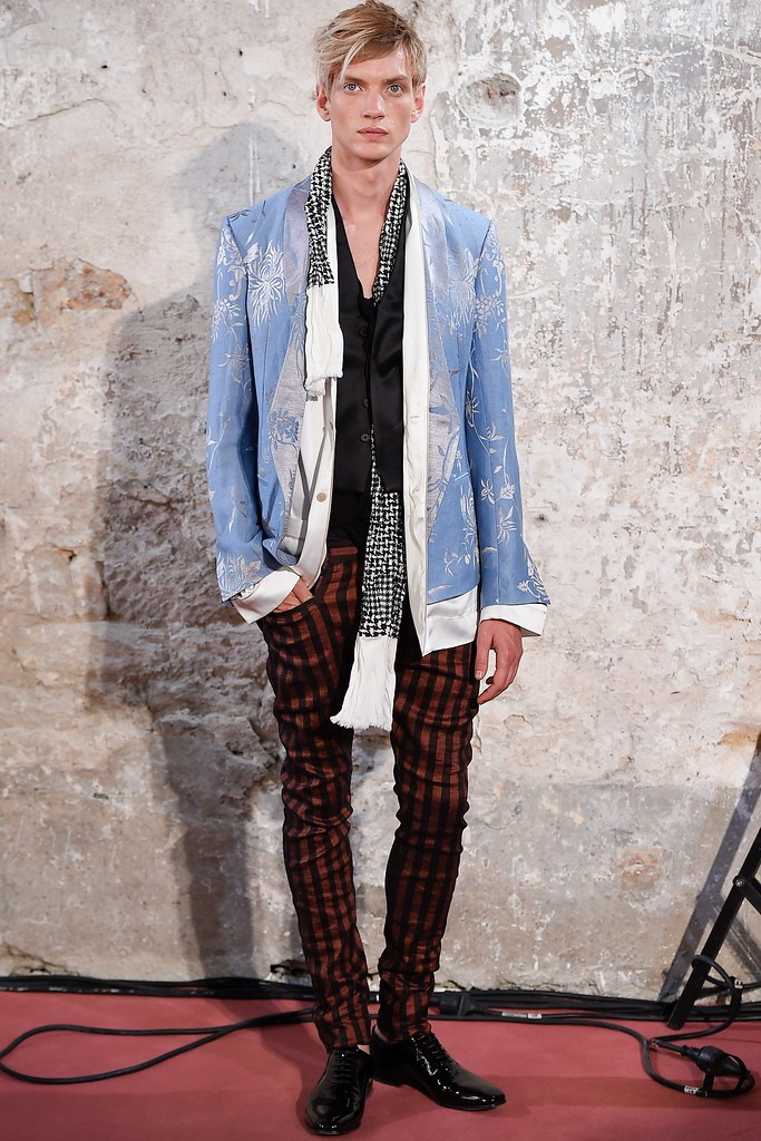Paul Boche3611_SS15 Paris Haider Ackermann(VOGUE)