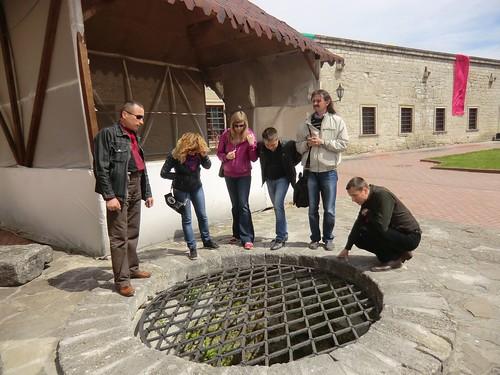 Старовинний колодязь натериторії замку Збараж