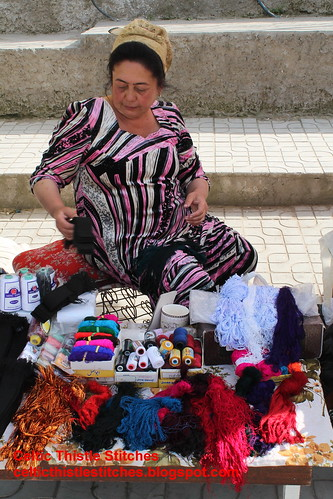 Thread seller Samarkand