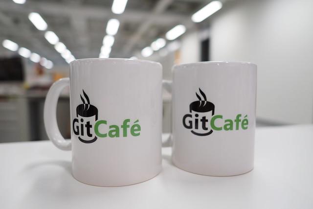 Git Cafe Mug