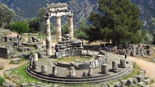 atenea delfos oraculodelfos delphi tholos atheneatholos greek greece classicalcivilisations europe mediterraneo architecture classicarchitecture grriegos grecia mediterranean arquitectura summer backpackers mochileros travellers europa southofeurope 2014 athenea 1000views 2000views 50faves