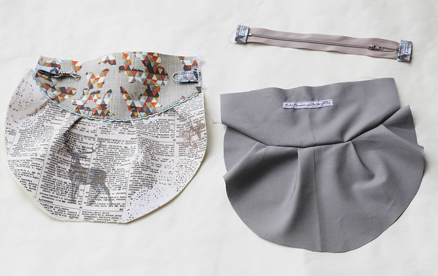 Indelible clutch zipper bag tutorial