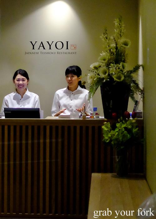 Yayoi Japanese teishoku restaurant, Sydney