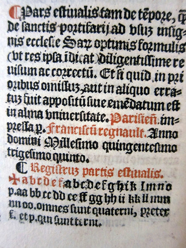 sarum breviary caly regnault colophon