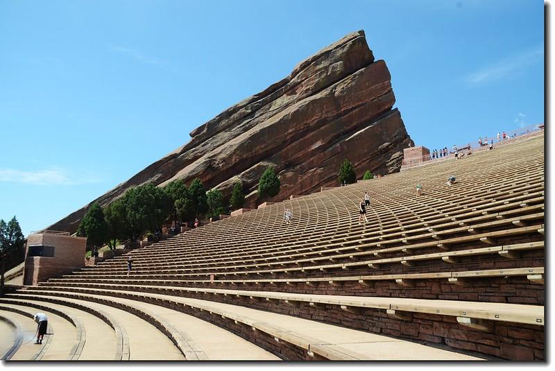 Ship Rock & Terraces(seats) of Amphitheatre