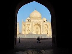 The Taj Mahal from the first Terrace