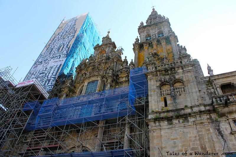SANTIAGO DE COMPOSTELA - Praza do Obradoiro - Catedral de Santiago de Compostela