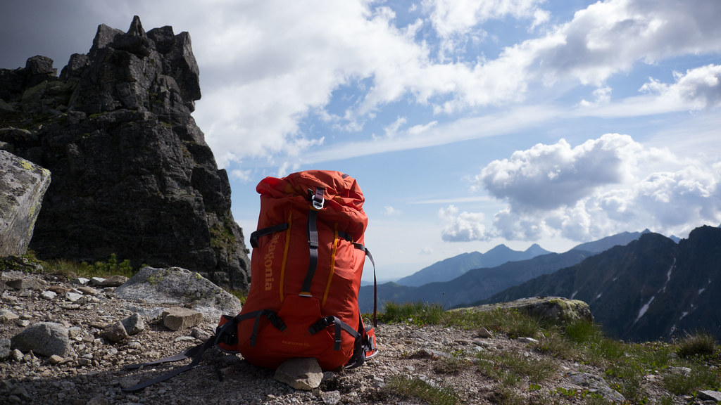 Patagonia Ascensionist Pack 45l Hiking In Finland