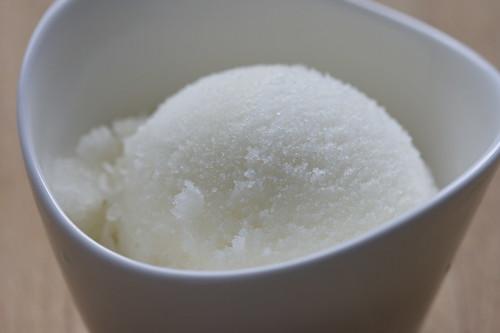 Lemon verbena sorbet