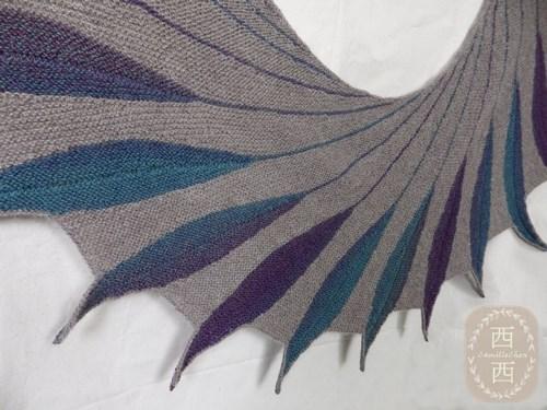 dreambird shawl 02