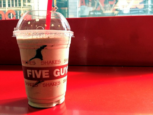 Five Guys Milkshake