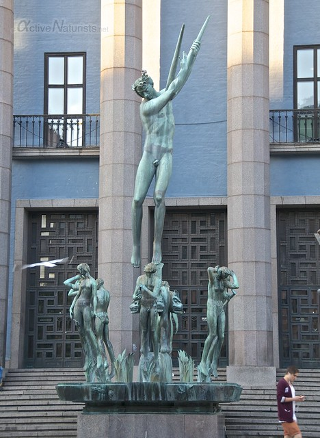 statue 0001 Stockholm, Sweden