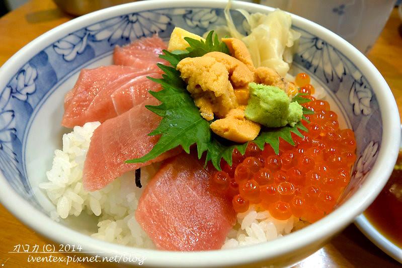38日本東京築地市場つきじ かんの菅野商店生魚片丼飯