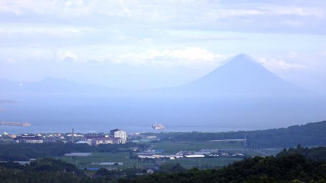 Mt. Kaimon. 開聞岳