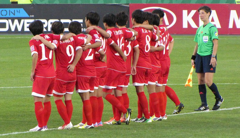 North Korea vs USA, U-20 Women's World Cup - penalty kick time