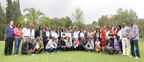 Participants at Africa RISING gender capacity development workshop