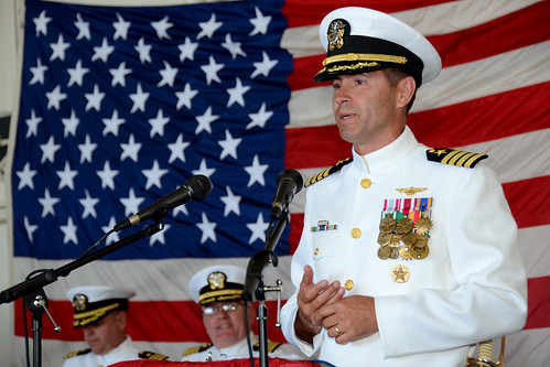 Anchorage Conducts Change of Command Ceremony