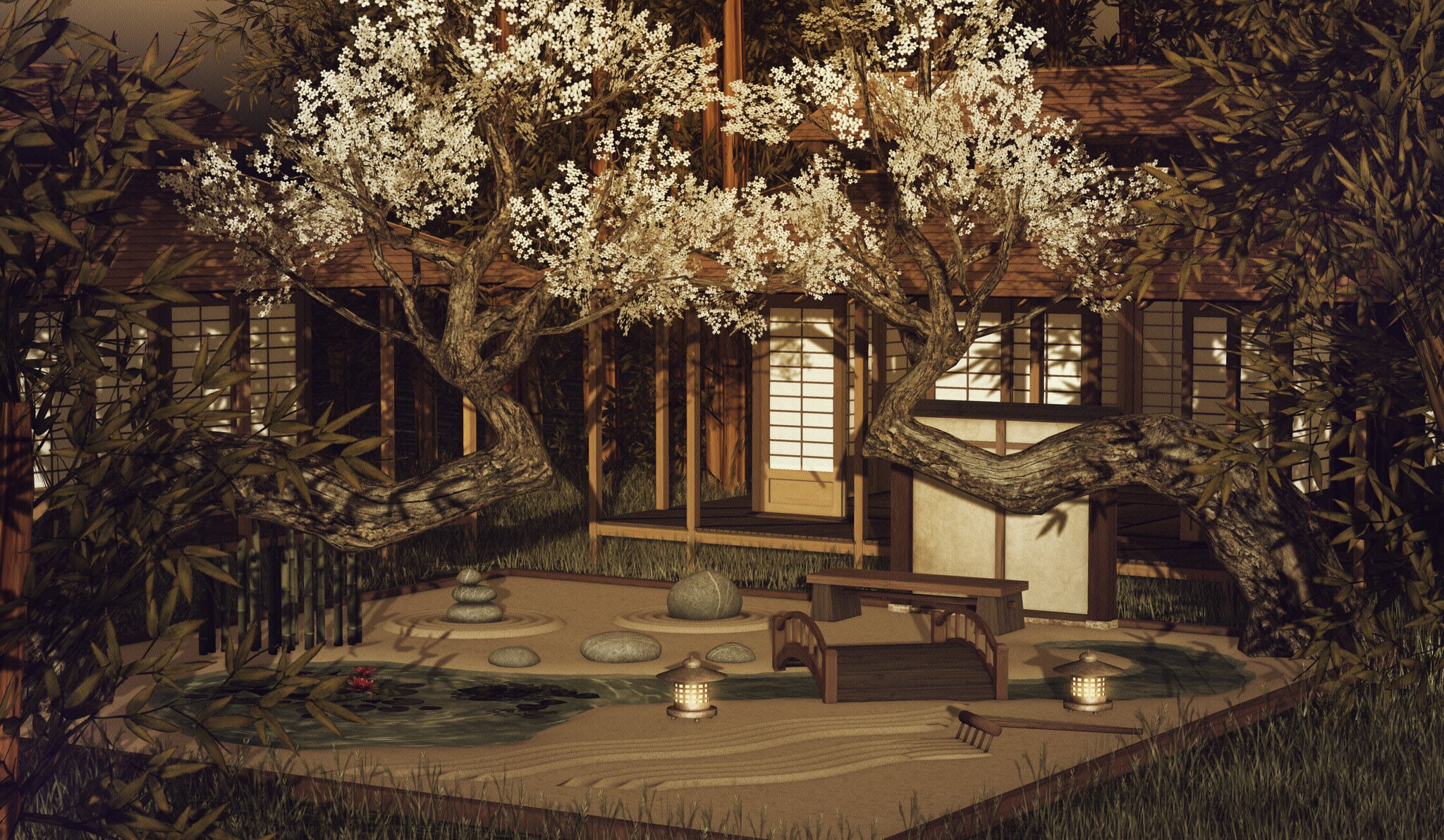 tea house - home