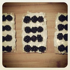 Desert with hand-picked #berries  #yummy #Summer #food