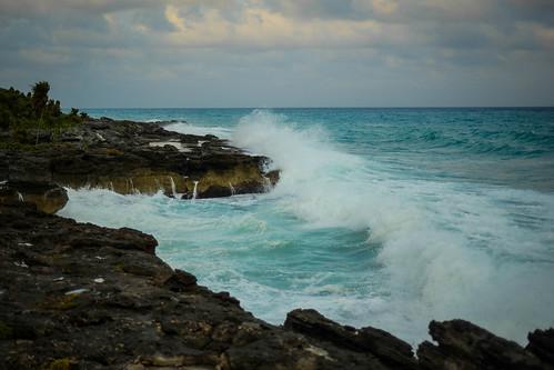 El imponente mar caribe