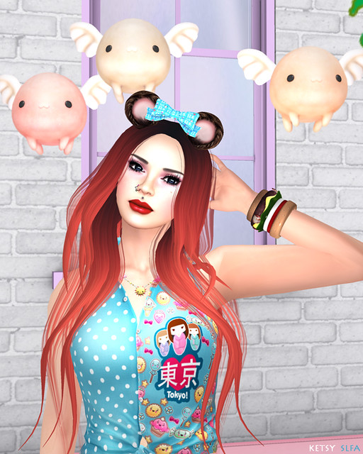La La Lolita Bear (New Post @ Second Life Fashion Addict)
