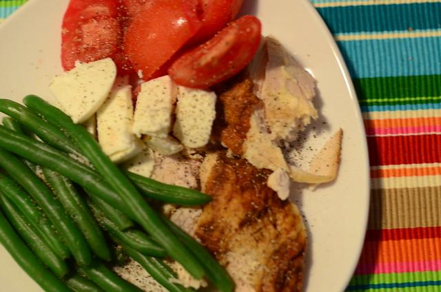 dinner last week