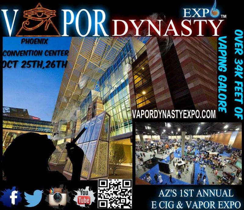 vapor dynasty expo flyer