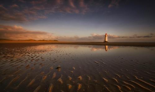 lighthouse beach reflections ripples northwales sigma1020mm deeestuary talacrebeach talacrelighthouse nikond7000