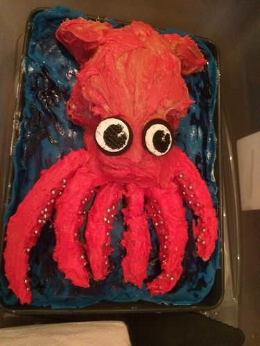 Squid Cake!