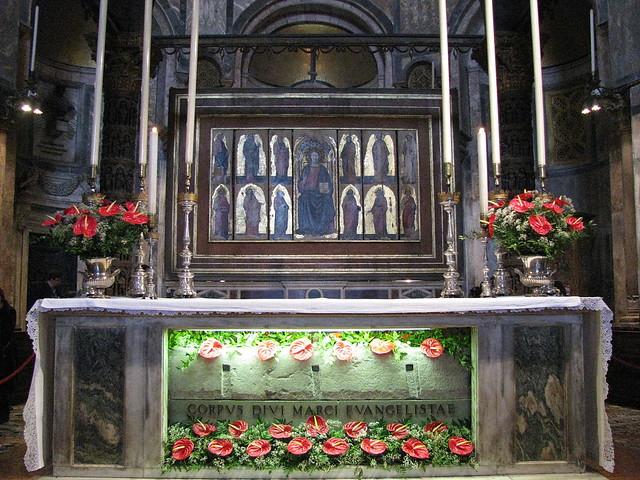 mormantul Sfantului Evanghelist Marcu