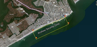 Atlantic City Airshow 2014 security zone