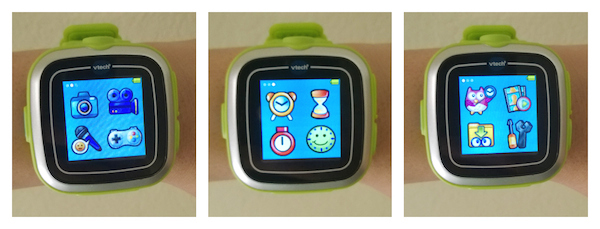 VTech KidiZoom Watch Menu