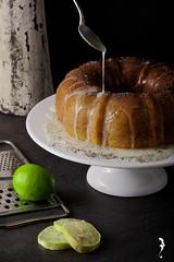 Lemon Poppy seeds cake...