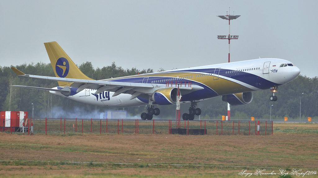 Airbus A330-322 I-Fly EI-FBU