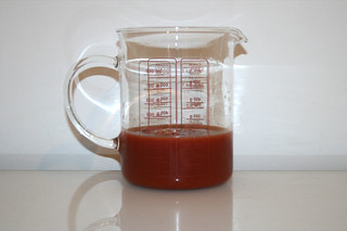 13 - Zutat Tomatensaft / Ingredient tomato juice