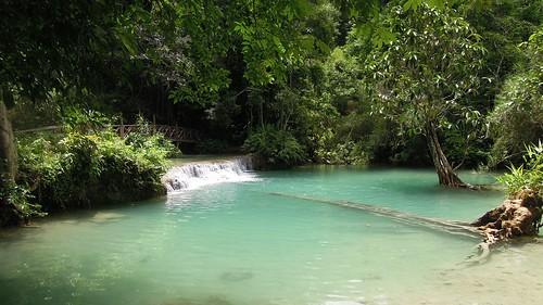 park waterfall nikon laos province luangprabang 2014 kuangsi p300