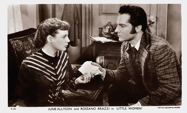 Rossano Brazzi and June Allyson in Little Women