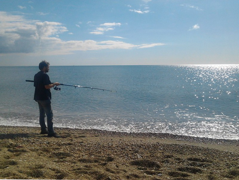 col fishing slapton