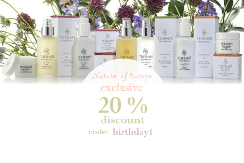 Therapi Honey Skincare Exclusive Discount, organic beauty week,